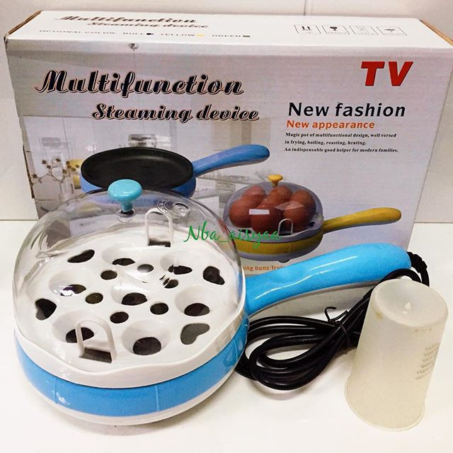 Яйцеварка электрическая  Multifunktion Steaming Device (пароварка, мультиварка)