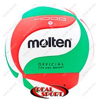 Волейбольный мяч Molten PU V5М4000 (PU, №5, 5 слоев, клееный)