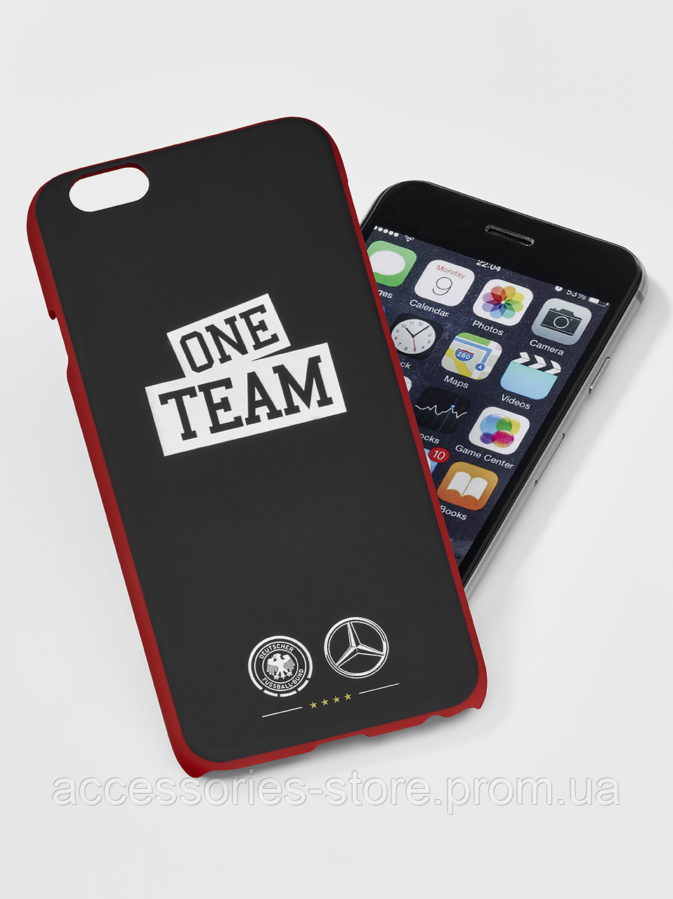 Пластиковый чехол для iPhone 6/6S Mercedes-Benz Cover for iPhone® 6/6s, ONE TEAM, Black