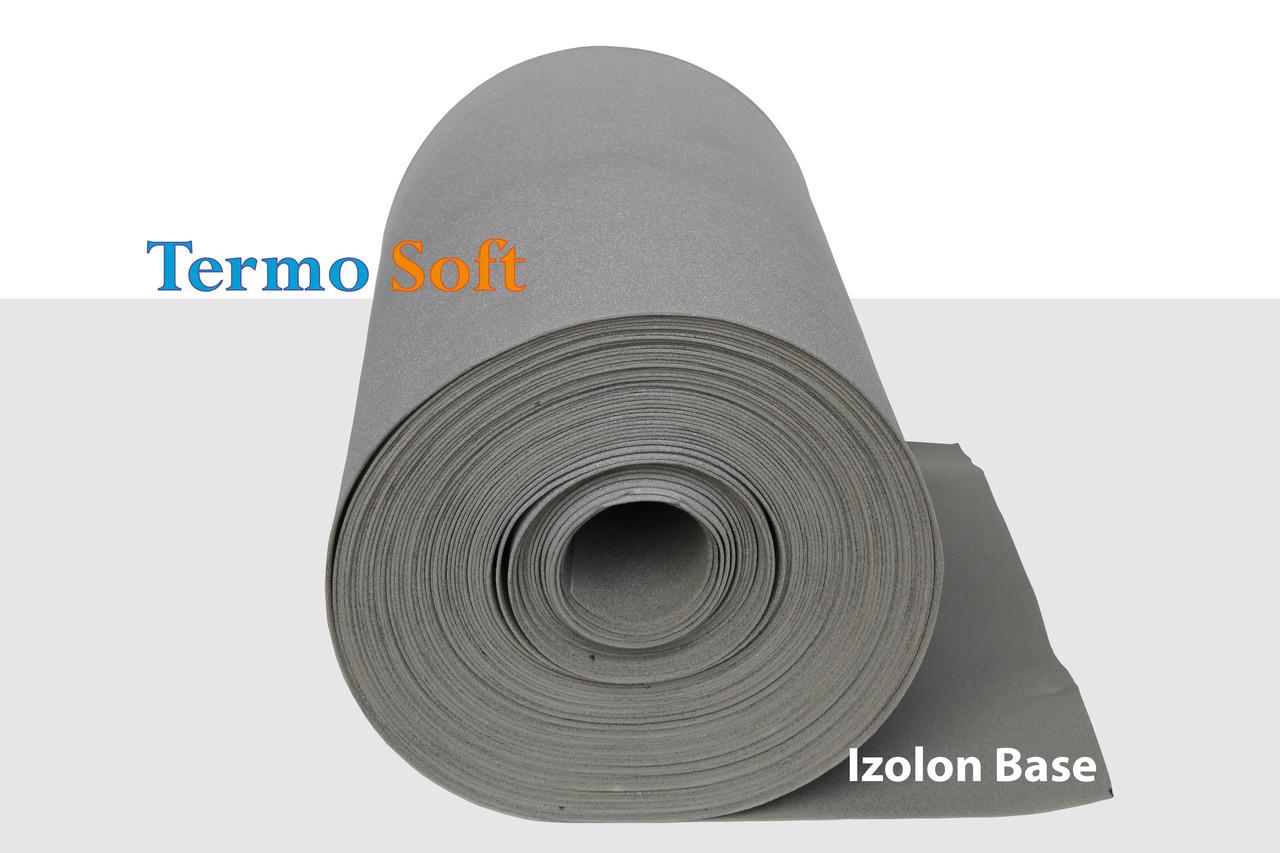 Тепло, шумоизоляция Пенополиэтилен Izolon Base 08, полотно ППЭ НХ-8мм