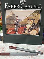 Линер цветной Faber-Castell, Grip Finepen 0,4 ,КОРИЧНЕВЫЙ №80