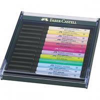Набор каппилярных ручек 12 шт. PITT PASTEL, 267420 Faber-Castell