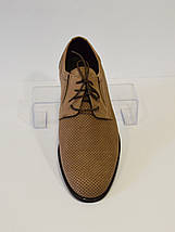Мужские летние туфли с перфорацией Tapi 5400, фото 2