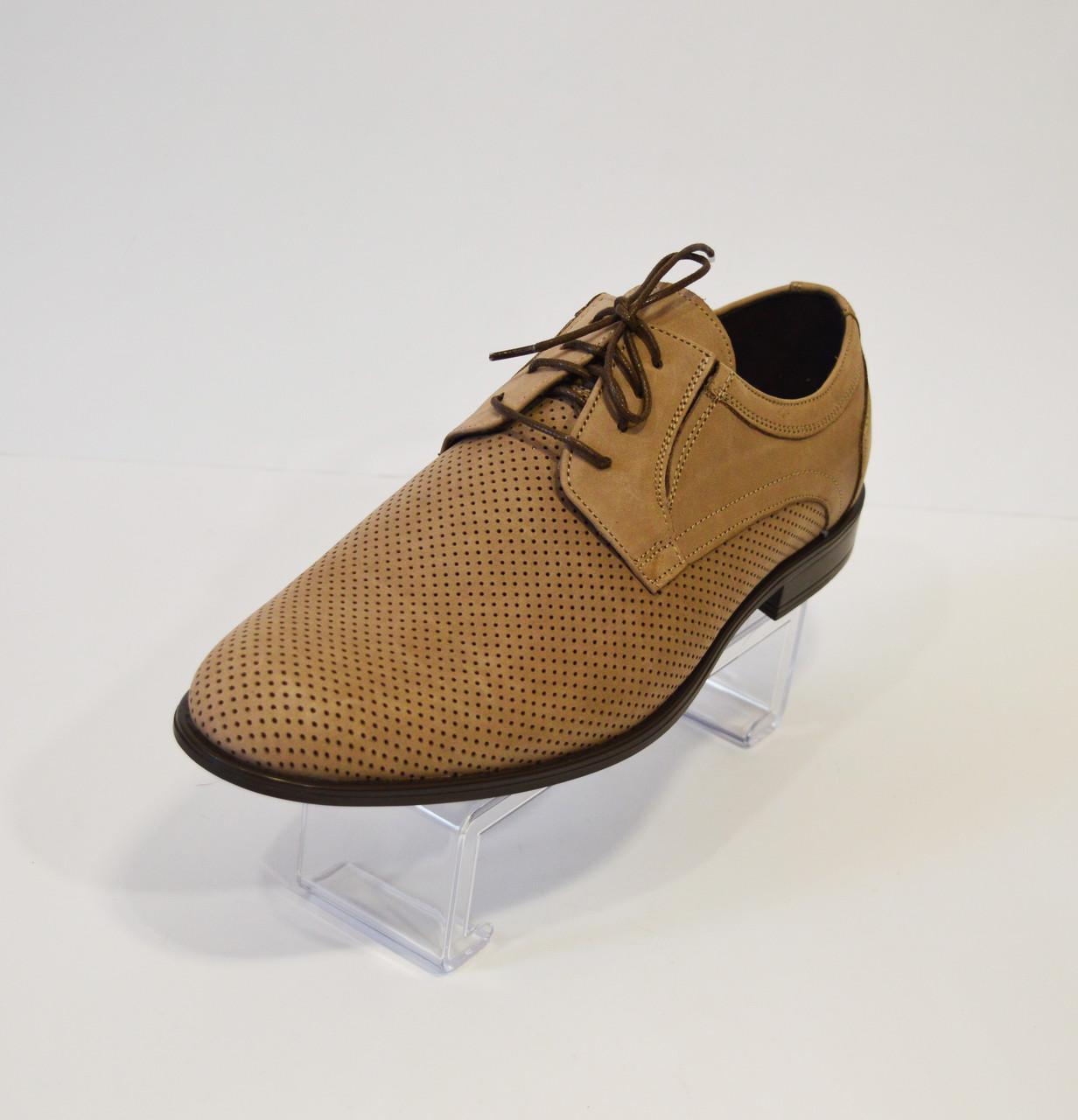 Мужские летние туфли с перфорацией Tapi 5400