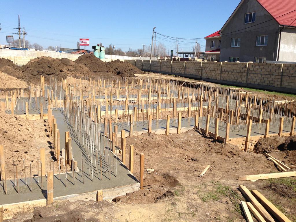 Строительство фундамента ( Частный дом 250 м.кв.) 8