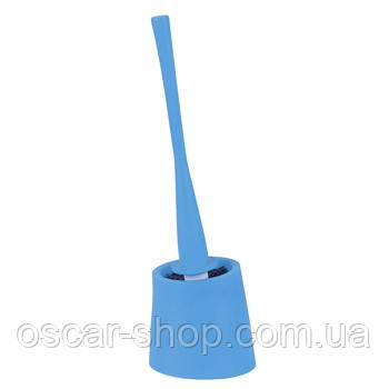 Щетка для унитаза Spirella MOVE, синяя