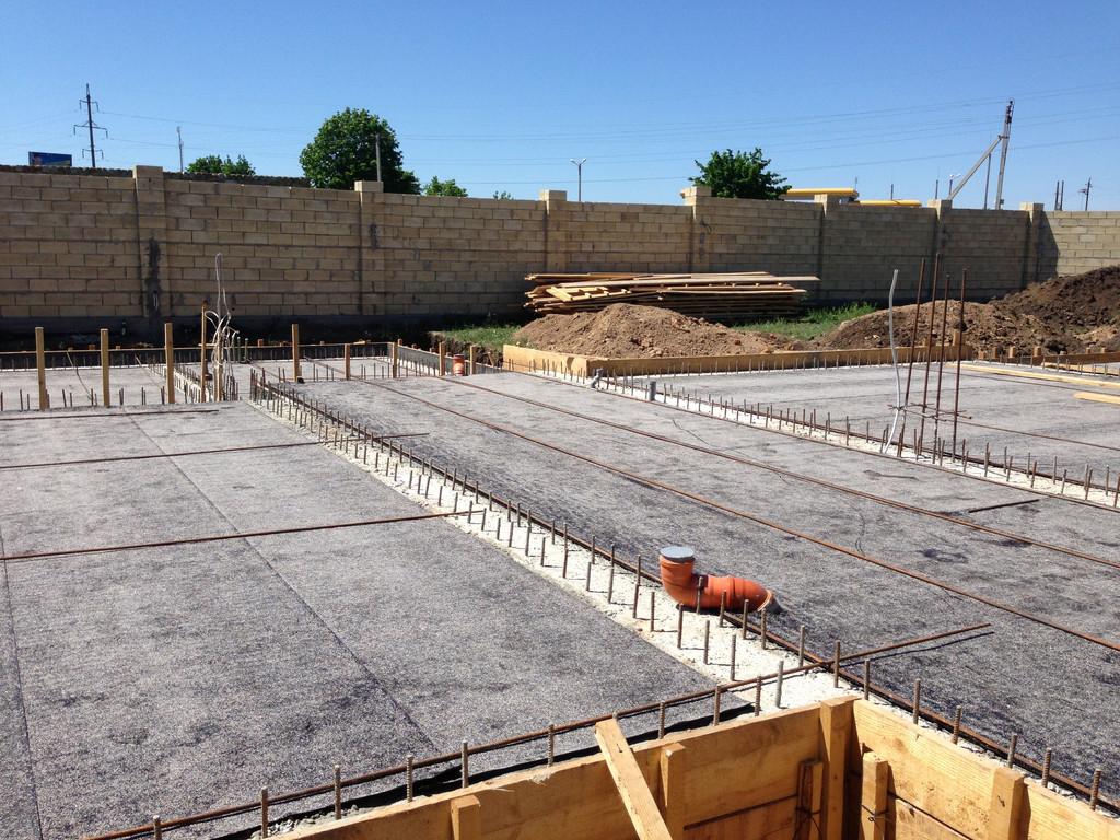 Строительство фундамента ( Частный дом 250 м.кв.) 23