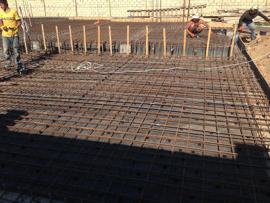 Строительство фундамента ( Частный дом 250 м.кв.) 28