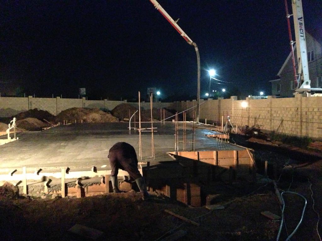 Строительство фундамента ( Частный дом 250 м.кв.) 30
