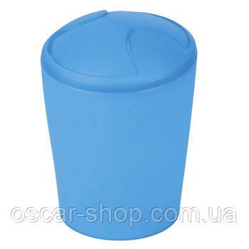 Ведро для мусора Spirella MOVE, синее