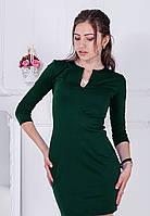 Класичне темно-зелене плаття-міні Dion Розпродаж (XXL)