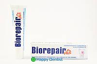 """Зубная паста BIOREPAIR SENSITIVE Teeth PLUS """"Профессиональной избавление от чувствительности"""""""