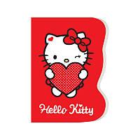 Блокнот А6 (60 листов, вырубка, клеевой) KITE 2017 Hello Kitty 223 (HK17-223)