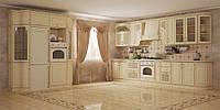 Кухонный компактный стильный, оригинальный по доступной цене размер 2,0м и 2.8м ЮляVIP МДФ