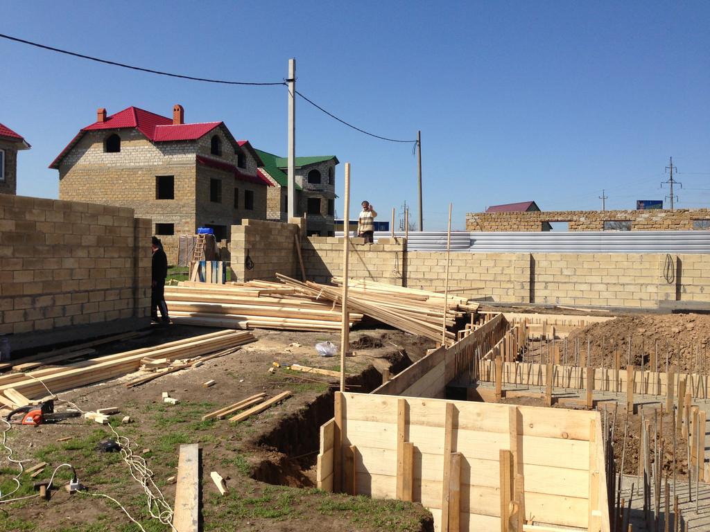 Строительство фундамента ( Частный дом 250 м.кв.) 12