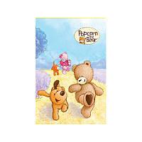 PO17-224 Блокнот (48 листов, клеевой) KITE 2017 Popcorn Bear 224