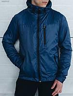 Ветровка куртка мужская весенняя Staff Wind dark blue Art. BRZ0012