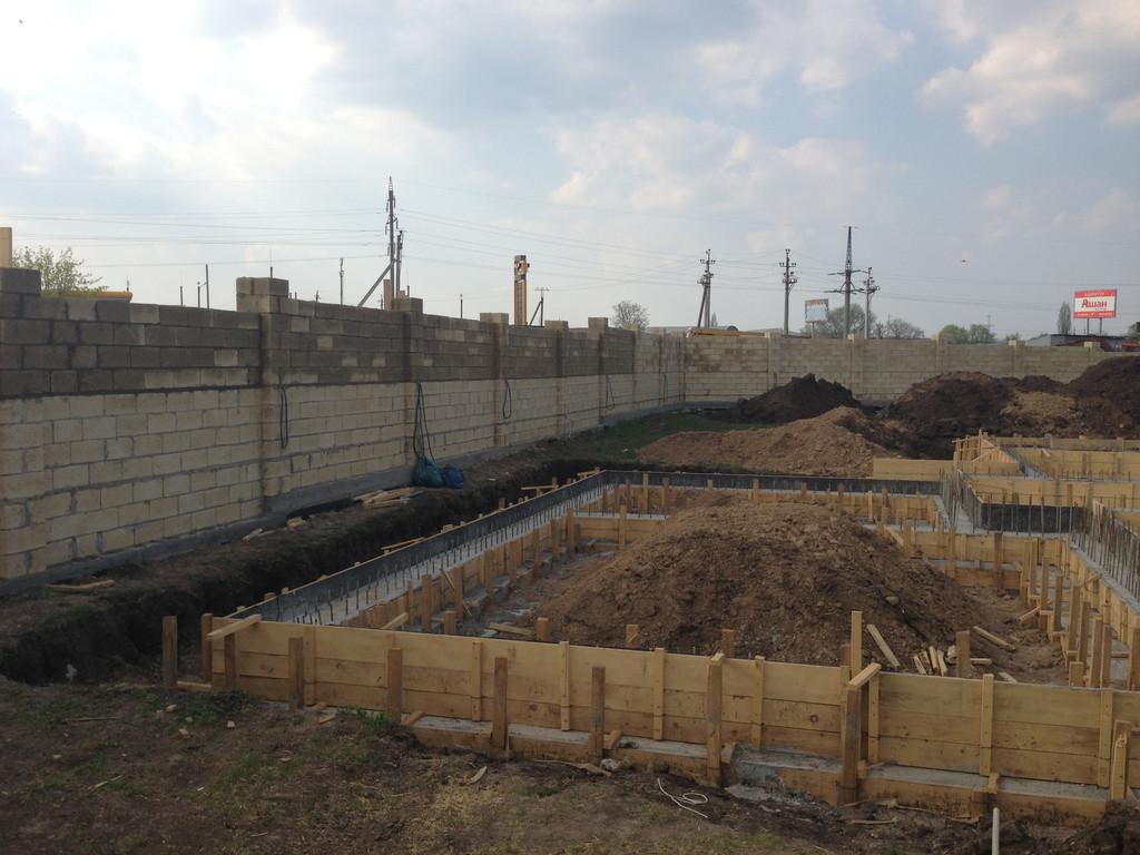 Строительство фундамента ( Частный дом 250 м.кв.) 13