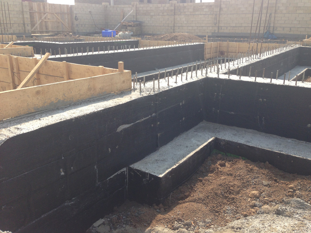 Строительство фундамента ( Частный дом 250 м.кв.) 15