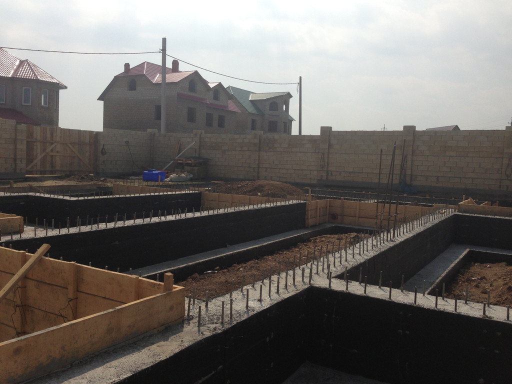Строительство фундамента ( Частный дом 250 м.кв.) 16