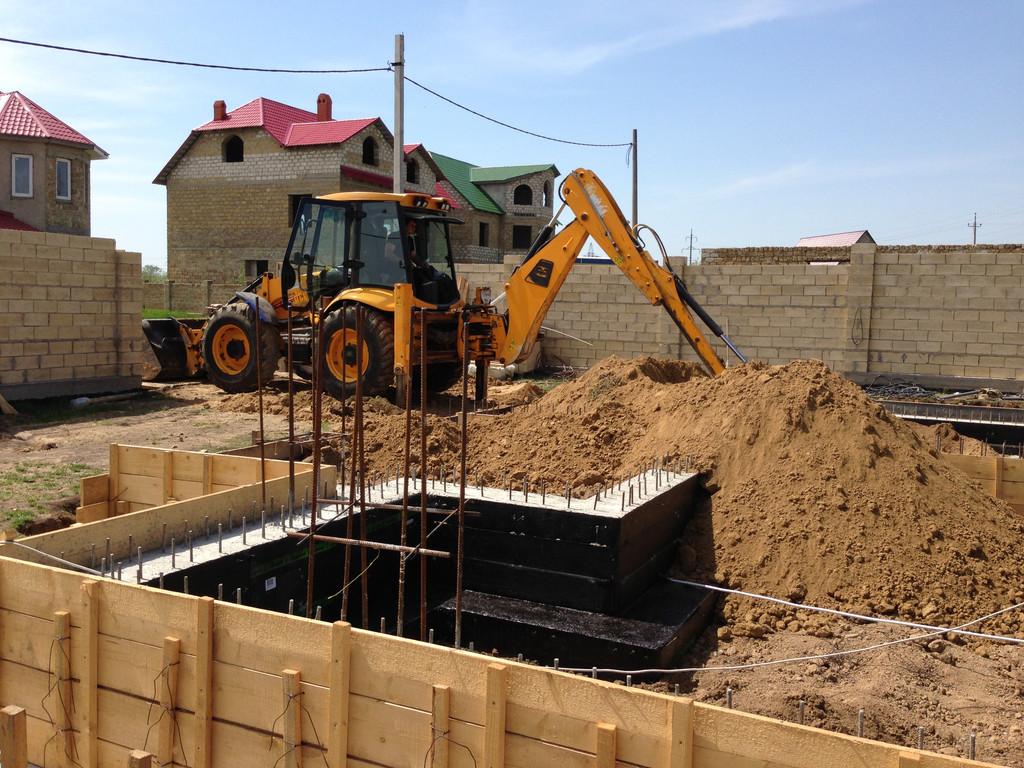 Строительство фундамента ( Частный дом 250 м.кв.) 19