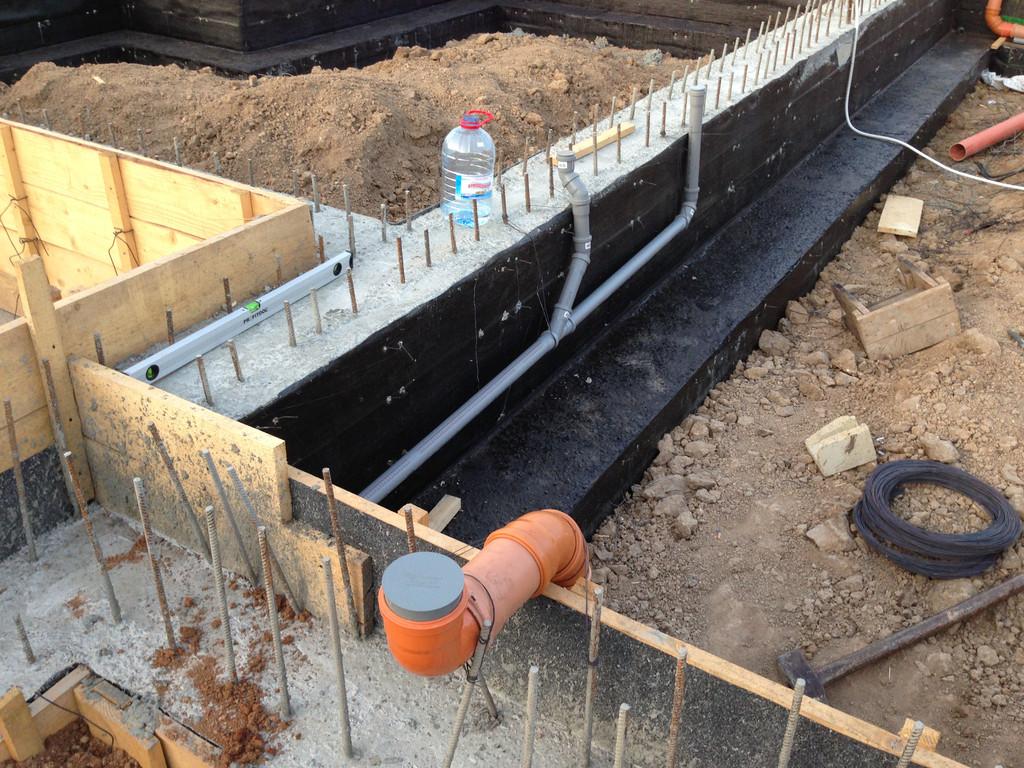 Строительство фундамента ( Частный дом 250 м.кв.) 18