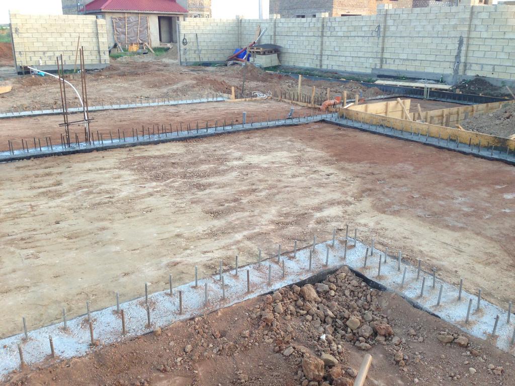 Строительство фундамента ( Частный дом 250 м.кв.) 20