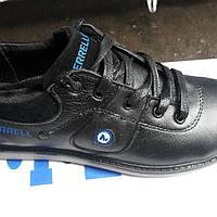 Подростковые кожанные кроссовки Merrell