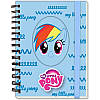 LP17-229 Блокнот А6 (80 листов, вырубка, спираль) KITE 2017 My Little Pony 229