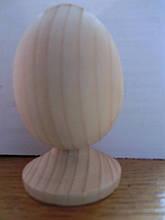 Яйца деревянные к Пасхе 100*65 мм заготовка