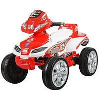 Детский квадроцикл Energy M 0417 E-1-3 красно-белый. Колеса EVA.