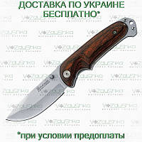 Нож Boker Magnum Bush Companion (01YA116) 440A, пакка, клипса