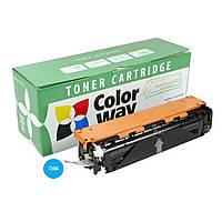 Картридж ColorWay для HP CLJ M276/M251 Cyan (CF211A) (CW-H211CM)