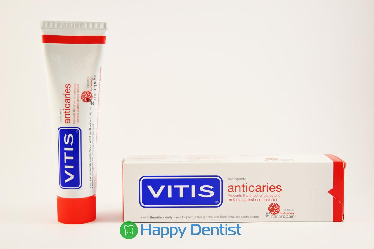 VITIS Anticaries (Витис Антикариес) зубная паста для профилактики кариеса