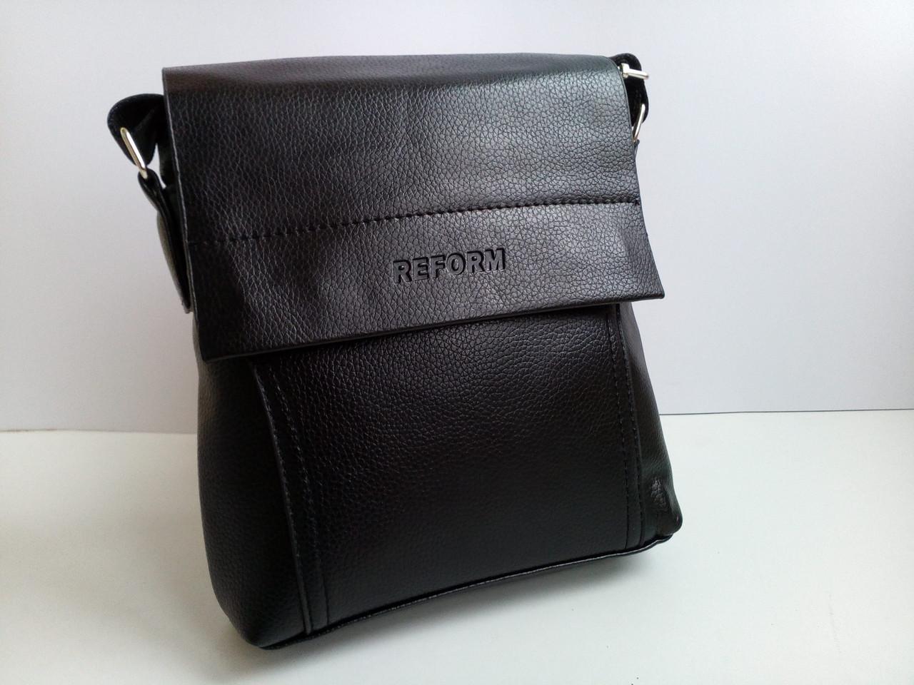Мужская сумка планшетка кожа pu