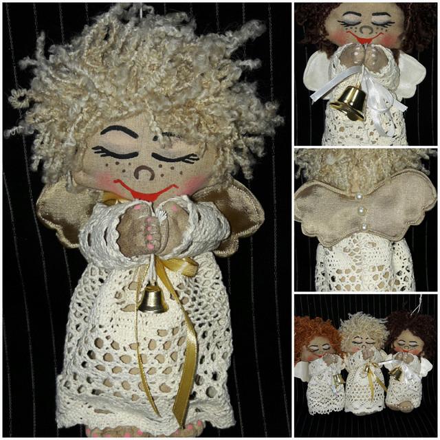 Авторские игрушки ручной работы, куклы, ангелы
