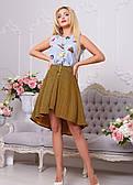 Модна асиметрична спідниця ( в кольорах)