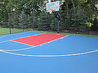 Спортивное покрытие для баскетбольной площадки, фото 1
