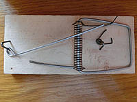Мышеловка капкан от мышей и крыс 6,5 см*14 см дерево