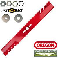 """Нож для газонокосилки универсальный Gator Mulcher 46 см / 18"""" Oregon 69-242, фото 1"""