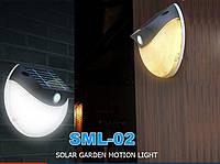 Лампа с датчиком движения на солнечных батареях, фото 1