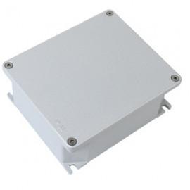 Коробка відгалужувальна алюмінієва пофарбована, IP66, RAL9006, 90х90х53мм (65300)