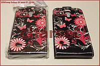 Чехол блокнот Samsung Galaxy S4 mini G-I9190 n#03