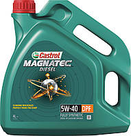 Моторное масло Castrol Magnatec Diesel 5W-40 DPF, 4л.