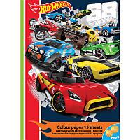 Цветная бумага (двухсторонняя) А4 KITE 2016 Hot Wheels 250 (HW16-250)