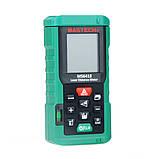 Лазерний далекомір ( лазерна рулетка ) Mastech MS6418 (0,046-80 м) проводить вимірювання V, S, H, пам'ять 99, фото 2