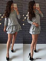 Трикотажное платье 519 ник