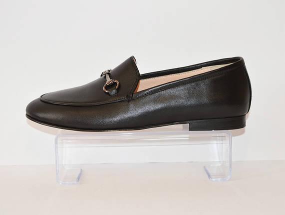 Женские черные туфли Aquamarine 024, фото 2