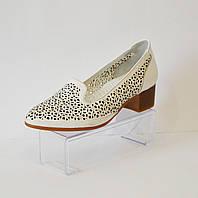 Женские белые летние туфли Euromoda 120
