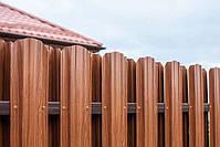 Штакетник металлический двухсторонний 0,45мм Словакия! Акция!, фото 3